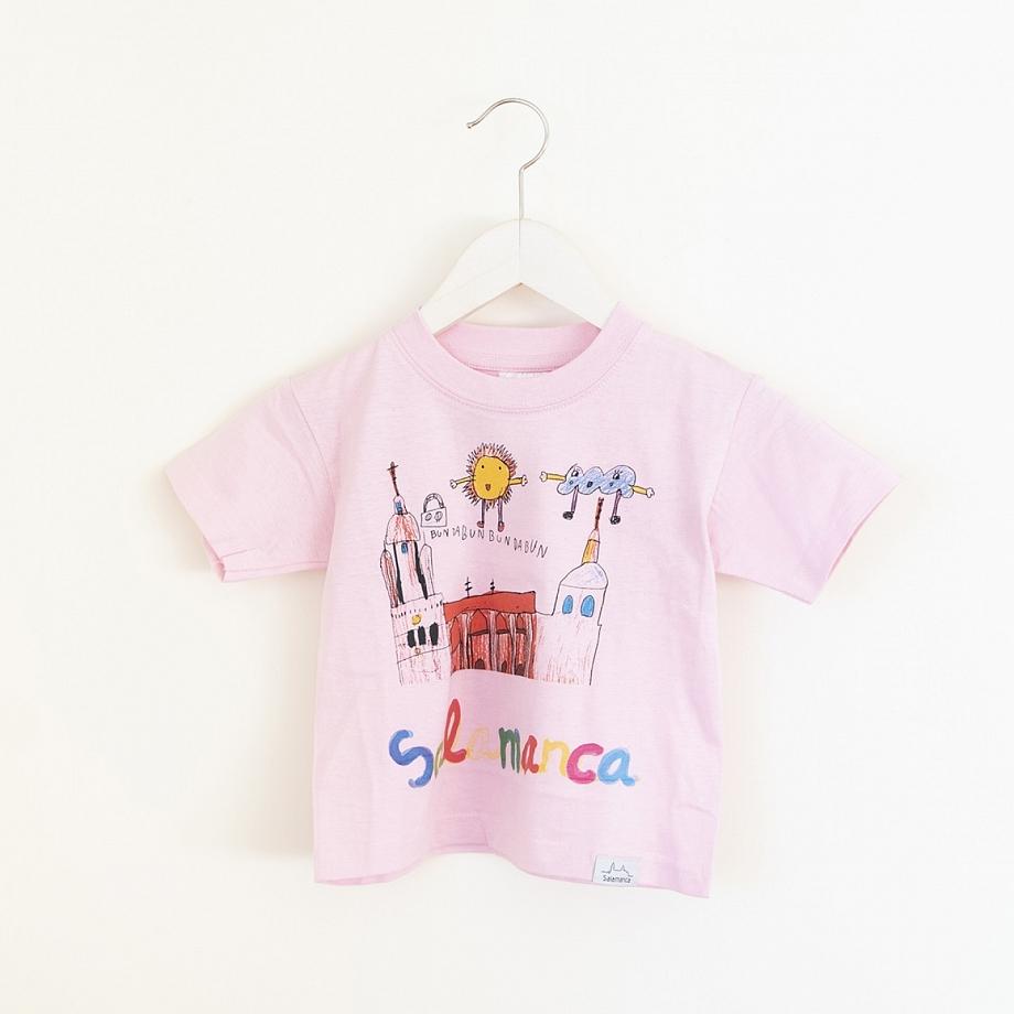 Camiseta Niño Salamanca Catedral Rosa