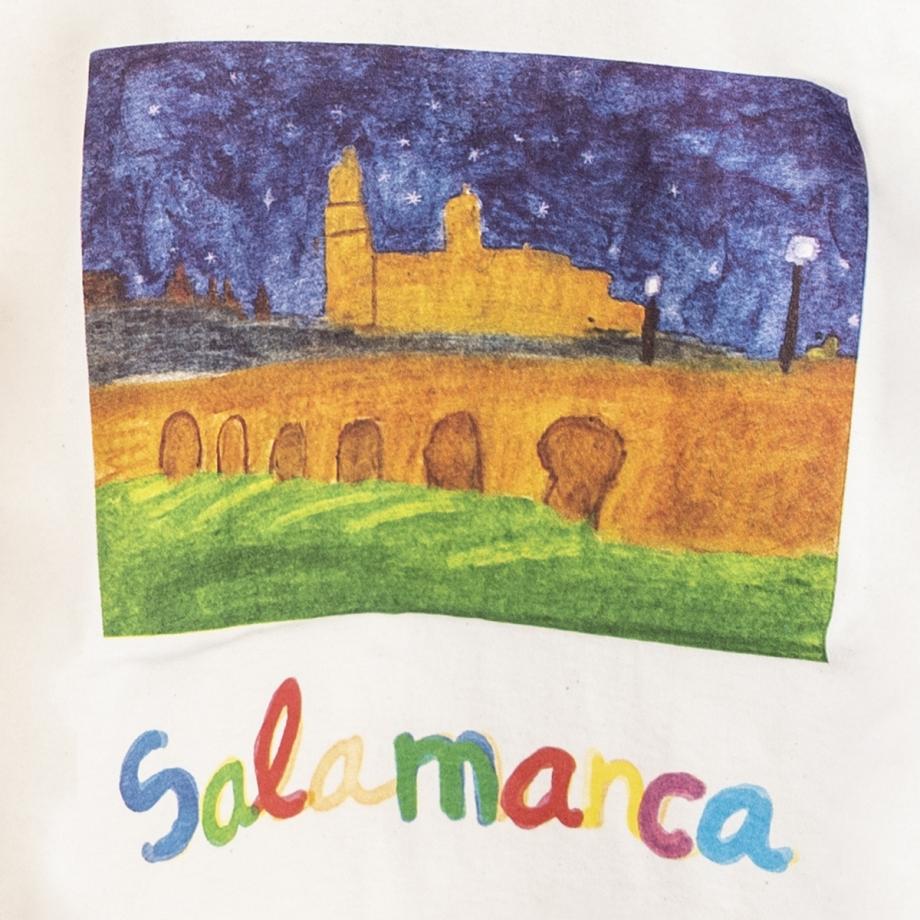 Camiseta Niño Salamanca Noche Natural