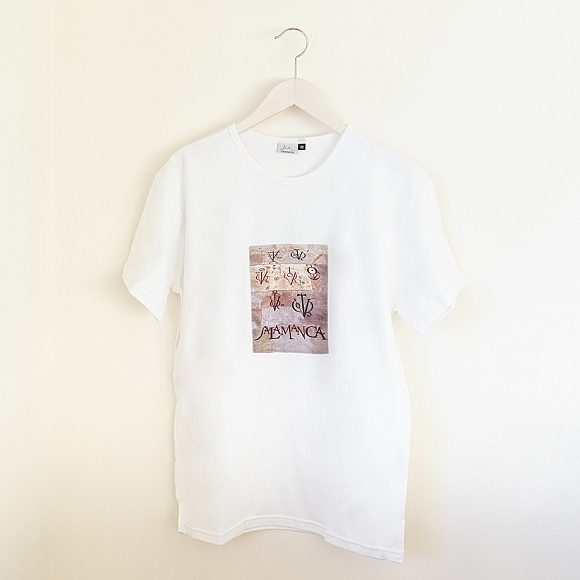 Camiseta Vítores Unisex Blanca