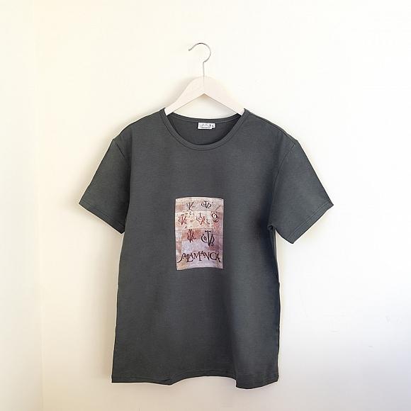 Camiseta Vítores Unisex Gris