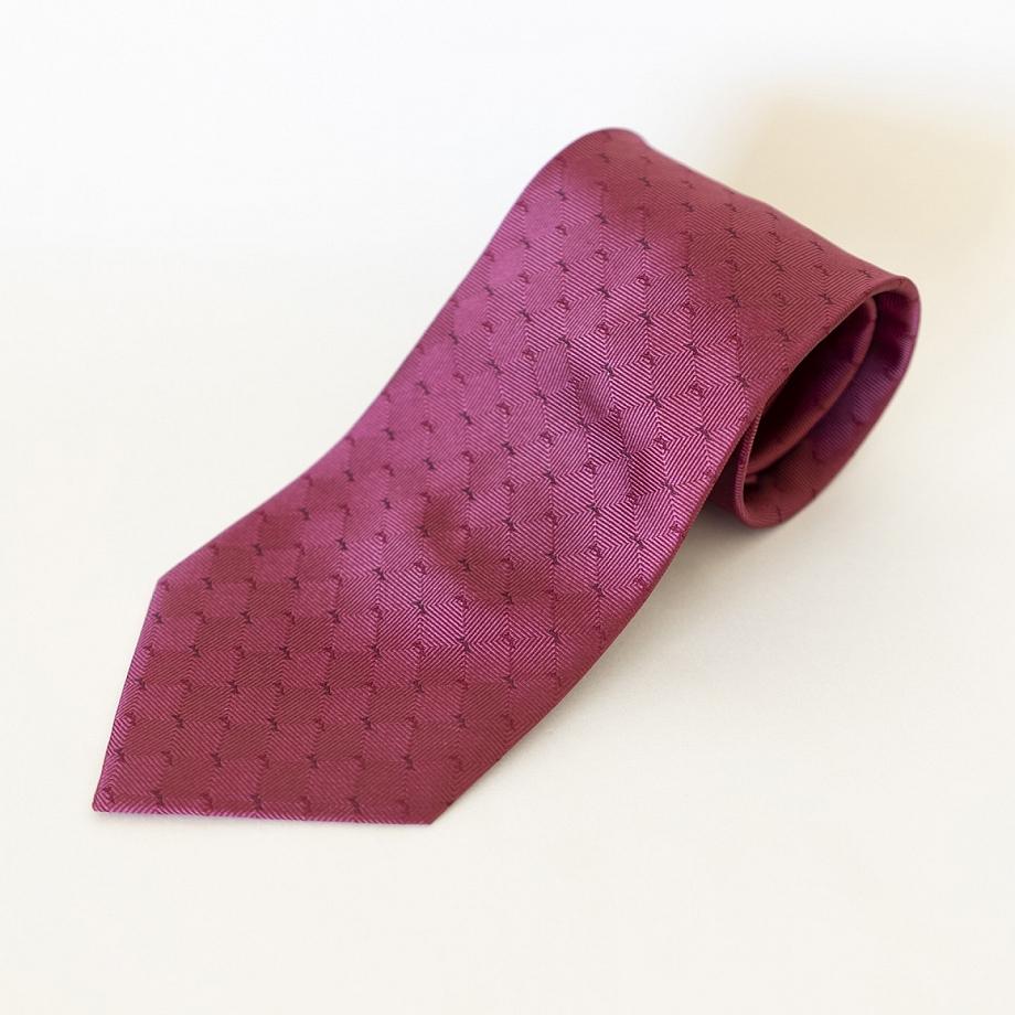 Corbata Seda Granate