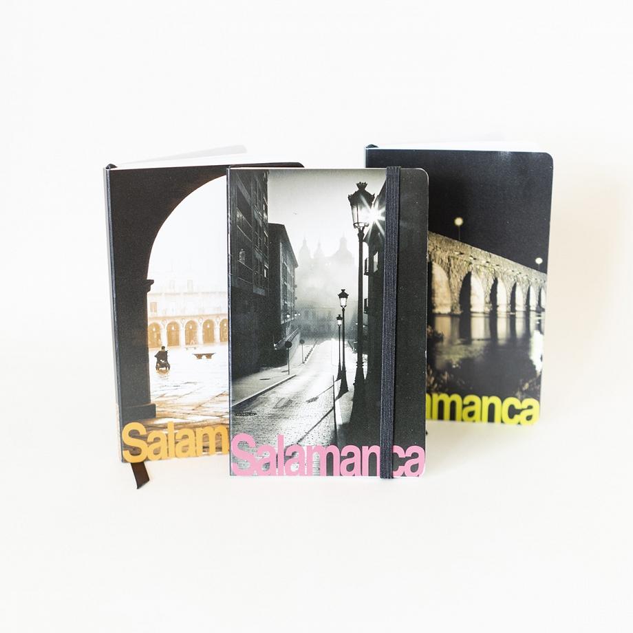 Cuaderno de Viaje Vista Calle de Salamanca