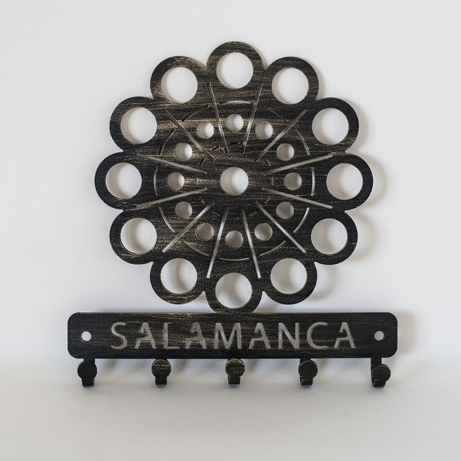Cuelgallaves Botón Charro
