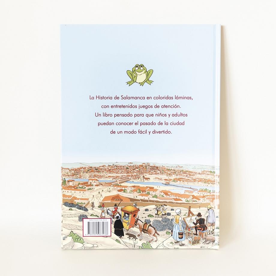 Historia de Salamanca contada a los niños.