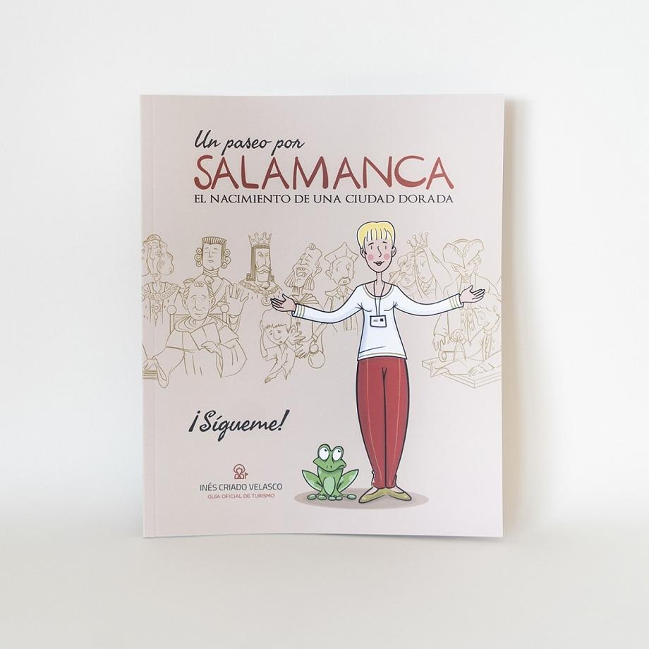Libro un paseo por Salamanca.
