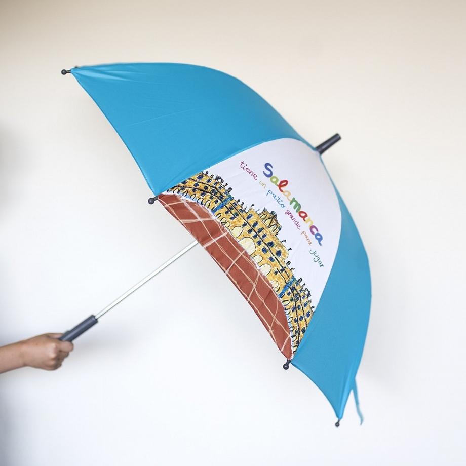 Paraguas Infantil Azul
