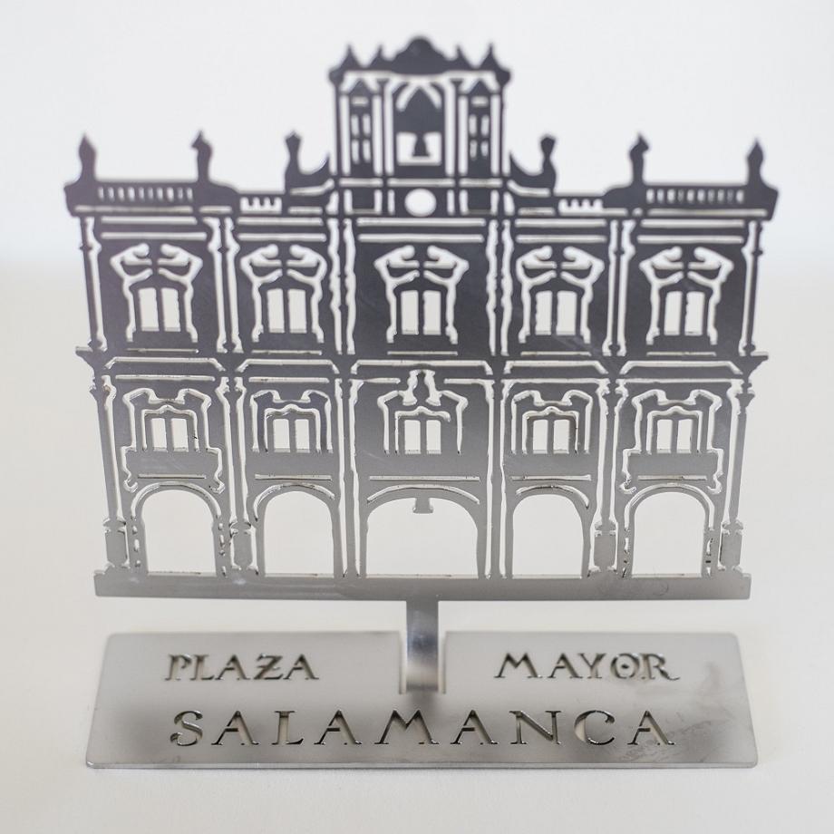 Sujetalibros Acero Plaza Mayor